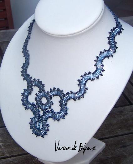 perle de rocaille modele collier